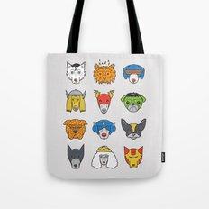 Super Dogs Tote Bag