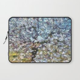 Spring Almond Blossom Laptop Sleeve