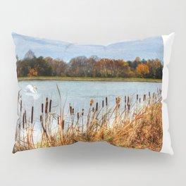 Autumn Swan Pillow Sham