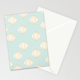 Spinning Gems Mint Stationery Cards