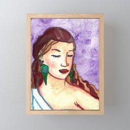 Goddess Hera Framed Mini Art Print