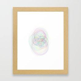Rainbow Rings 2 Framed Art Print