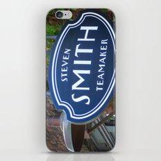 Smith Tea, Portland Oregon iPhone & iPod Skin