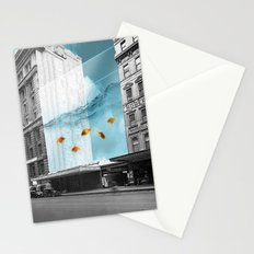 between the walls Stationery Cards