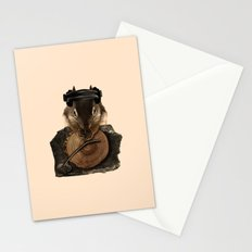 Squirrel DJ Stationery Cards