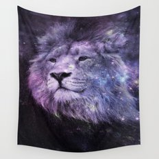 Galaxy Lion Leo Wall Tapestry