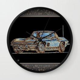 1967 Stingray Wall Clock