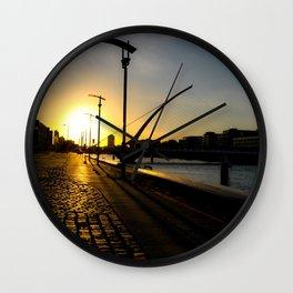 Dublin Sunset Wall Clock