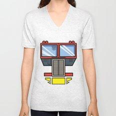 Transformers - Optimus Prime Unisex V-Neck