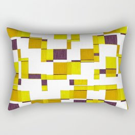 Squared field Rectangular Pillow