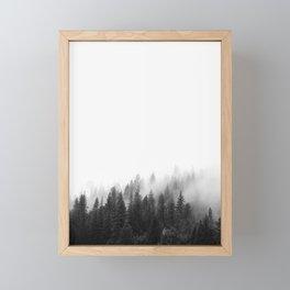 Misty Forest Framed Mini Art Print
