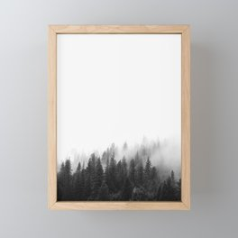 Misty Forest Framed Mini Art Print