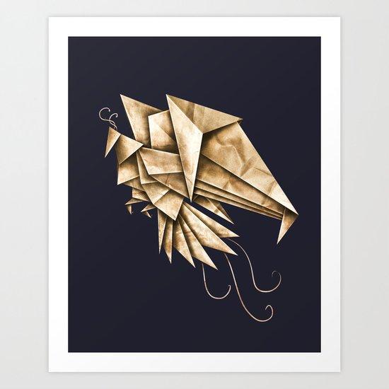 Phoenixgami Art Print