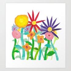 More Flowers Art Print