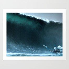 Wave Art Print