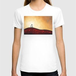 Forgiven - Christian Art By Sharon Cummings T-shirt