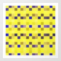 "pixel Art Prints featuring ""Pixel"" by Mr & Mrs Quirynen"