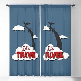 Let's travel Blackout Curtain