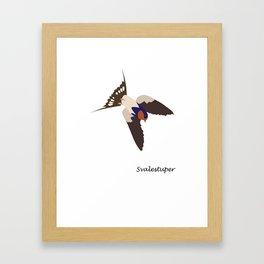Svalestuper Framed Art Print