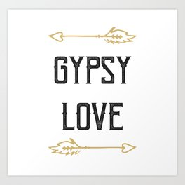 Gypsy Love Art Print