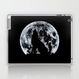 Wolf And Moon Laptop & iPad Skin