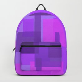 Mod pink and purple Backpack