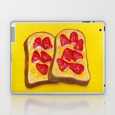 Strawberry Toast Laptop & iPad Skin