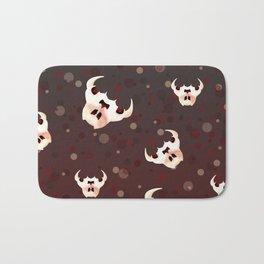 Evil Bunny Skulls Bath Mat
