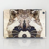 racoon iPad Cases featuring Racoon by Ancello