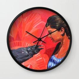 The Great Chrysalis Begins Wall Clock