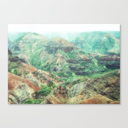 Waimea Canyon, Kauai, Hawaii Canvas Print