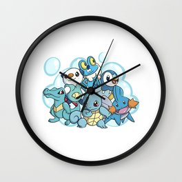Bubble Beam Wall Clock
