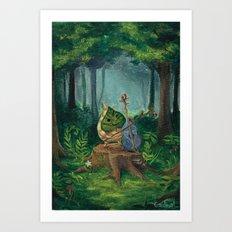 Makar Art Print