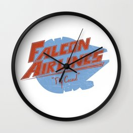 Falcon Airlines Wall Clock