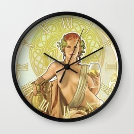 Noveau Wall Clock