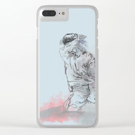 Don't Wanna Cry Clear iPhone Case