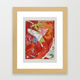 A.P. Framed Art Print