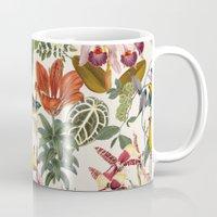 botanical Mugs featuring Botanical by Bambouchic