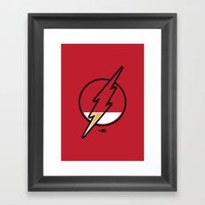 Running Low Framed Art Print