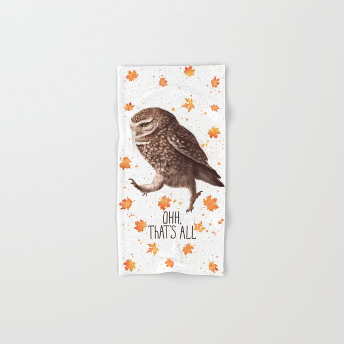 Owl ohh, that's all Hand & Bath Towel