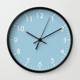Aquamarine Blue Wall Clock
