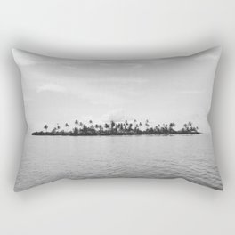 San Blas Islands, Panama - Black & White Rectangular Pillow