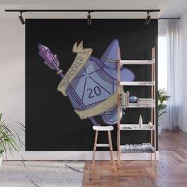 Sorcerer D20 Fantasy Dice Wall Mural