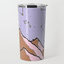 Constellation Mountains Travel Mug