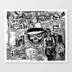 Freak Power Canvas Print