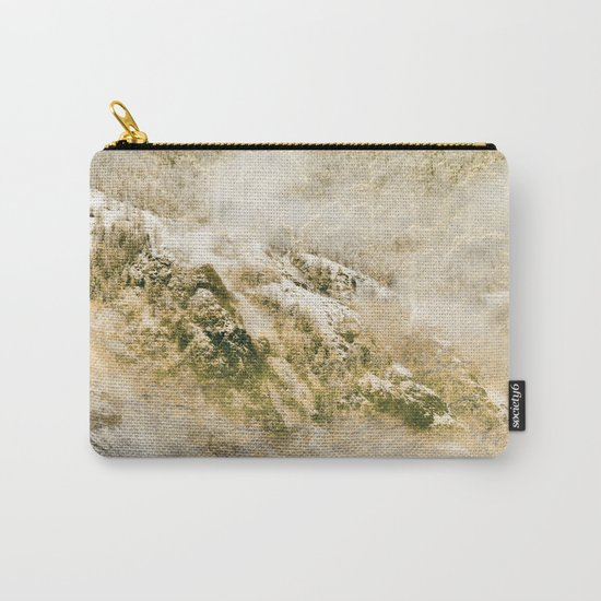 Golden Winter Forest 3 Carry-All Pouch