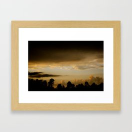 Sunsetting Framed Art Print