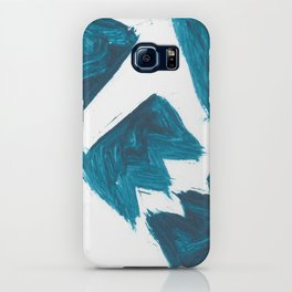 Basquiat Crown, Abstract, Blue Duck iPhone Case