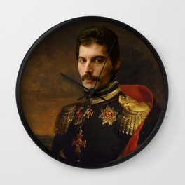 Freddy Mercury Classical Regal General Painting Wall Clock
