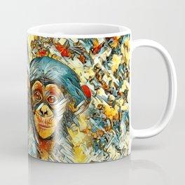 AnimalArt_Chimpanzee_20170601_byJAMColorsSpecial Coffee Mug